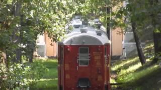 Поезд в парке Глобы - Днепропетровск, 06.07.2014
