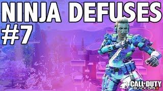 BO3: NINJA DEFUSE MONTAGE! #7 (Ninja Defuses, Funny Moments & Trolling)