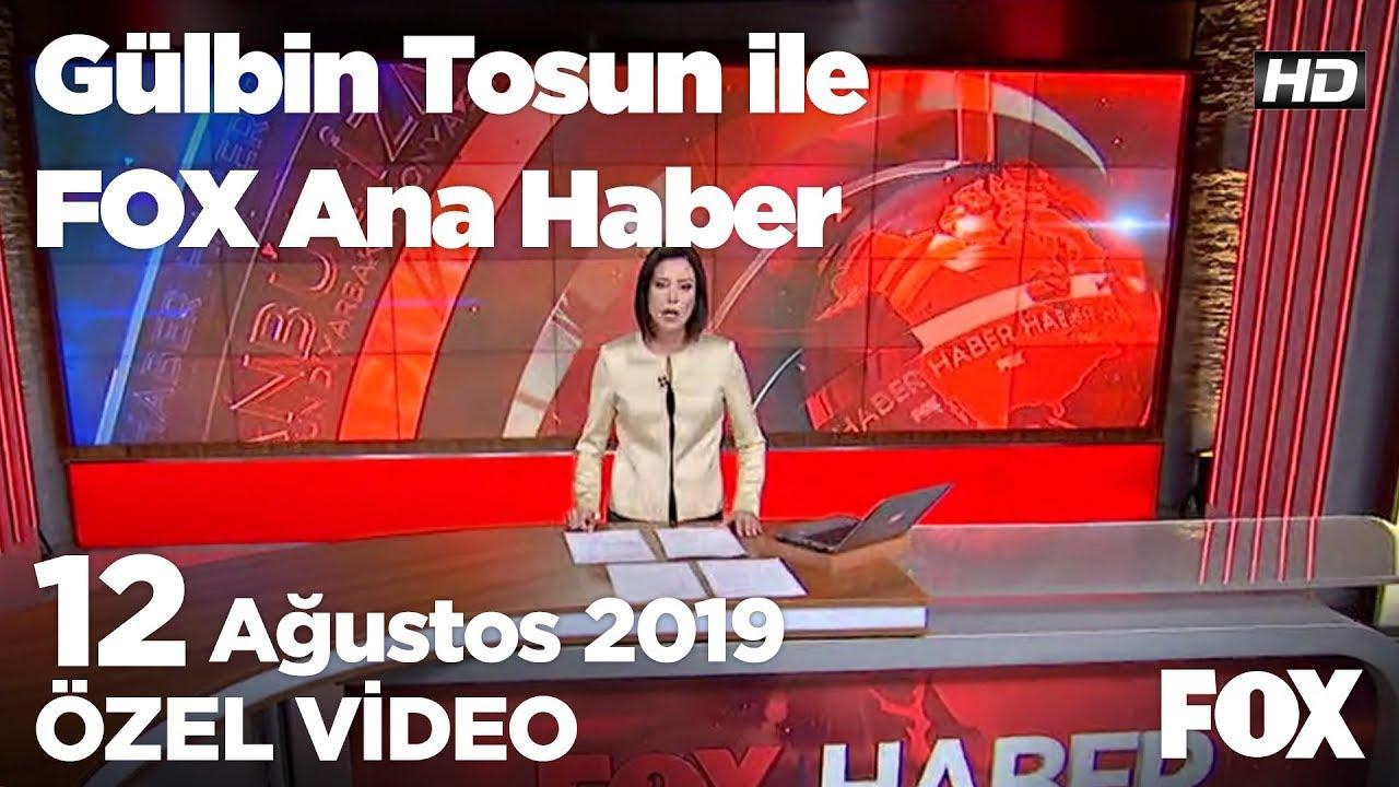 Ak Parti'de ihale gerginliği... 12 Ağustos 2019 Gülbin Tosun ile FOX Ana Haber