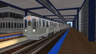 Train Simulator 2016 HD: CTA 5000 Series Orange Line Train Chase (Midway - Loop - Midway)