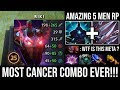 If You Can See Me, You're Already DEAD   Most Cancer Combo Scepter Riki + Amazing 5 Men RP DotA 2