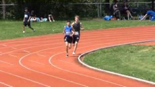 1500m juvenile masculin 2e vague - Ismael Ben Mohamed médaillé régional course Montréal