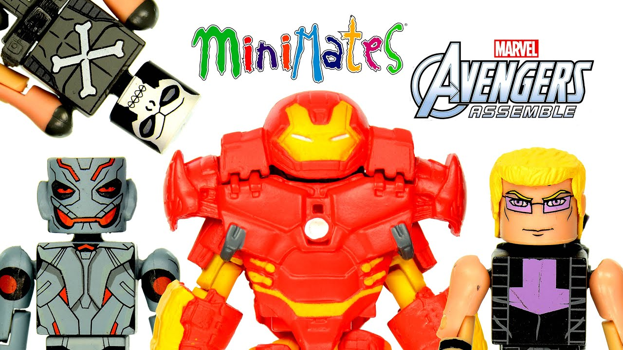 Marvel Minimates Walgreens Series 4 Avengers Assemble Iron Skull