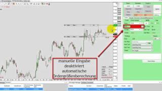 18. Trading mit dem Order Escort: Orders und Stops eingeben (Tutorial)