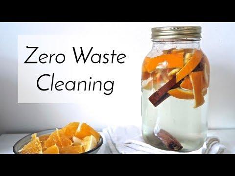 Zero Waste All Purpose Cleaner Recipe | Natural + Non Toxic
