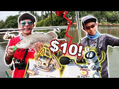 $10 Fishing Reel Challenge !?