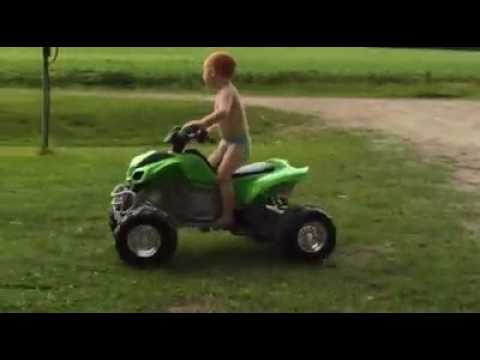 Aj at 4yrs old getting it done
