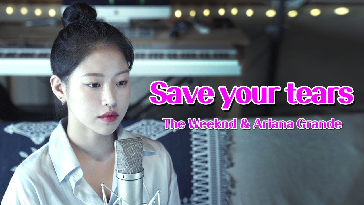 """[+3key] The Weeknd & Ariana Grande """" Save Your Tears"""" covered by TIN 💙  더 위켄드 아리아나그란데│Coversong│pop"""