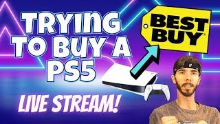 Attempting to Buy the PS5 from Best Buy - PlayStation 5 and Xbox Stream