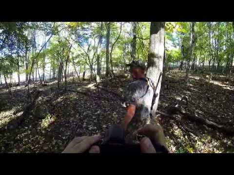 Fallow Deer Hunt: 13 Point- Mountain Meadow Hunting Preserve- Greenville, WV 10/8/14