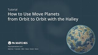 How to Move Planets from Orbit to Orbit with the Halley