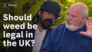 Weed debate: should it be legalised? Damian Marley and Dr D'Ambrosio discuss