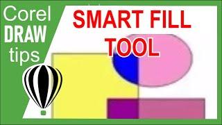 Smart Fill tool in CorelDraw