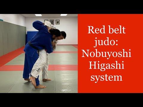 Red belt Judo:  The Nobuyoshi System