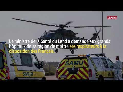 Coronavirus: les hôpitaux allemands à la rescousse de l'Alsace