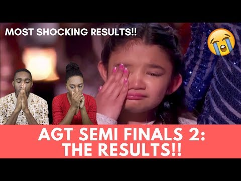The Results Are In! Semi Finals 2 | America's Got Talent 2017 Reaction