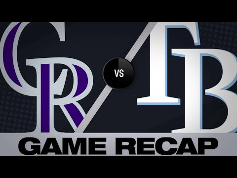 Lowe and Kiermaier homer in Rays' 7-1 win: 4/1/19