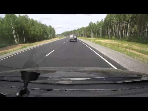 Дорога Архангельск - Вологда - Санкт-Петербург