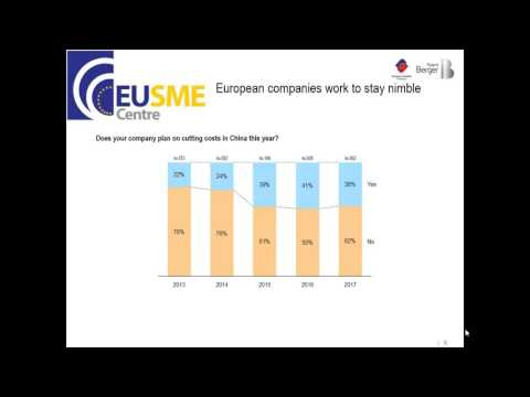 Key Findings of 2017 European Business in China Confidence Survey