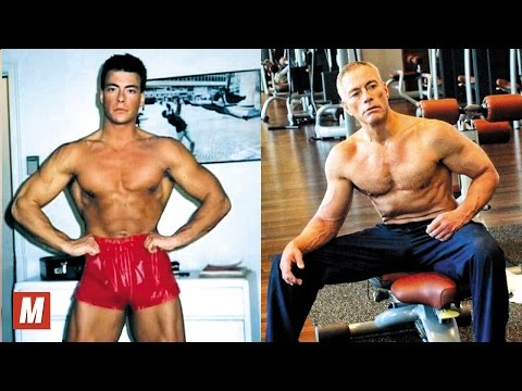 Jean Claude Van Damme  From 21 To 56 Years Old