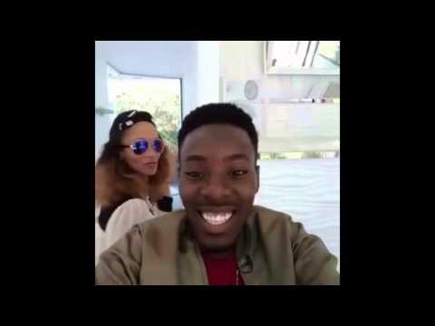 Mayunga na Akon studio Marekani