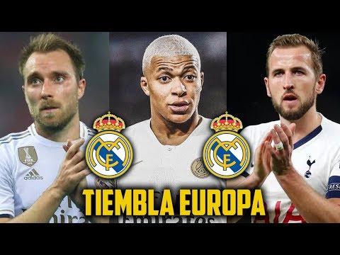 ZIDANE LOS QUIERE YA! 6 Cracks que llegaran al Real Madrid en este Mercado de fichajes 2020