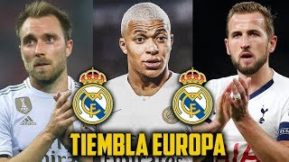 ¡ZIDANE LOS QUIERE YA! 6 Cracks que llegaran al Real Madrid...