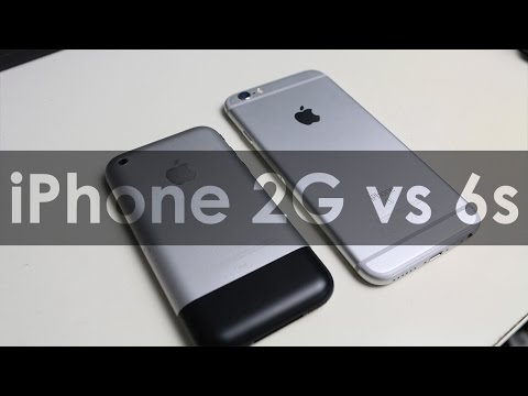 iPhone 6s vs iPhone 1st Generation: Speed and Features Comparison