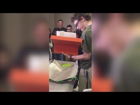 Classmates Raise Money To Buy Special Needs Student Two Pairs Of New Shoes