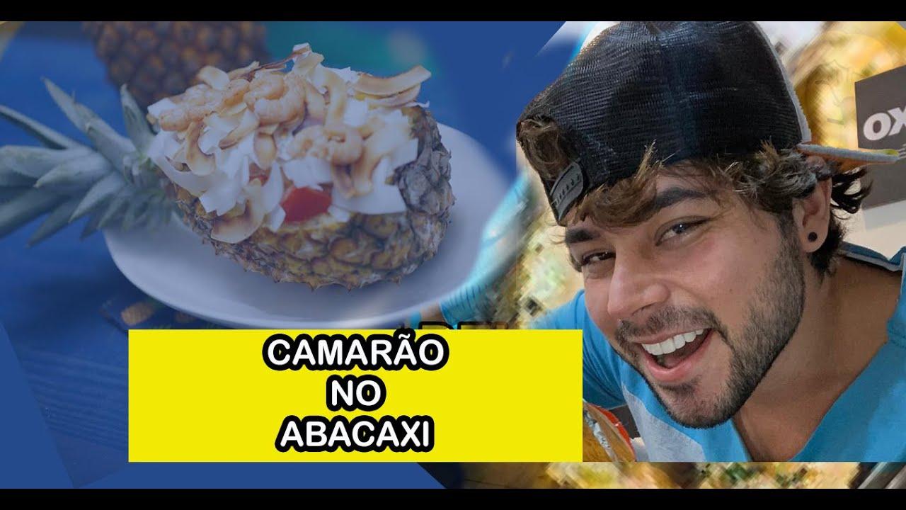 CAMARÃO NO ABACAXI, FAÇA EM CASA   ANDERSON LOPEZ TV.