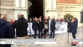 17/01/20 - Pendolari a Genova: resoconto sit in in Prefettura