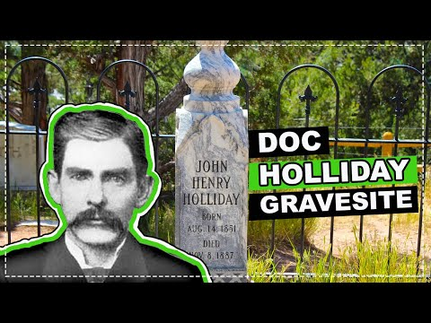 A Blast From The Wild West Past:  Doc Holliday Rests Here