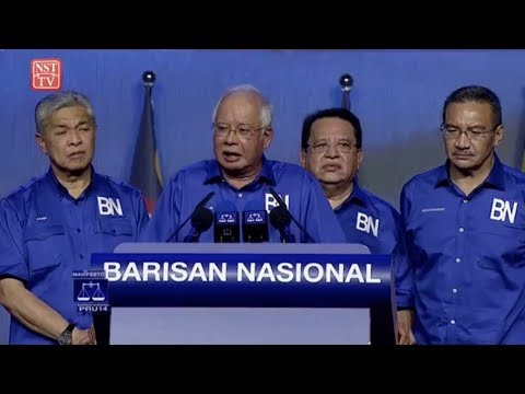 GE14: Launch of Barisan Nasional 14th General Election manifesto