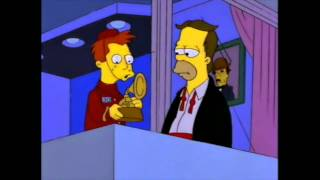 The Simpsons Aww It's a Grammy