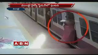 Woman slips under moving Train while alighting at Station, alert Cop saves her