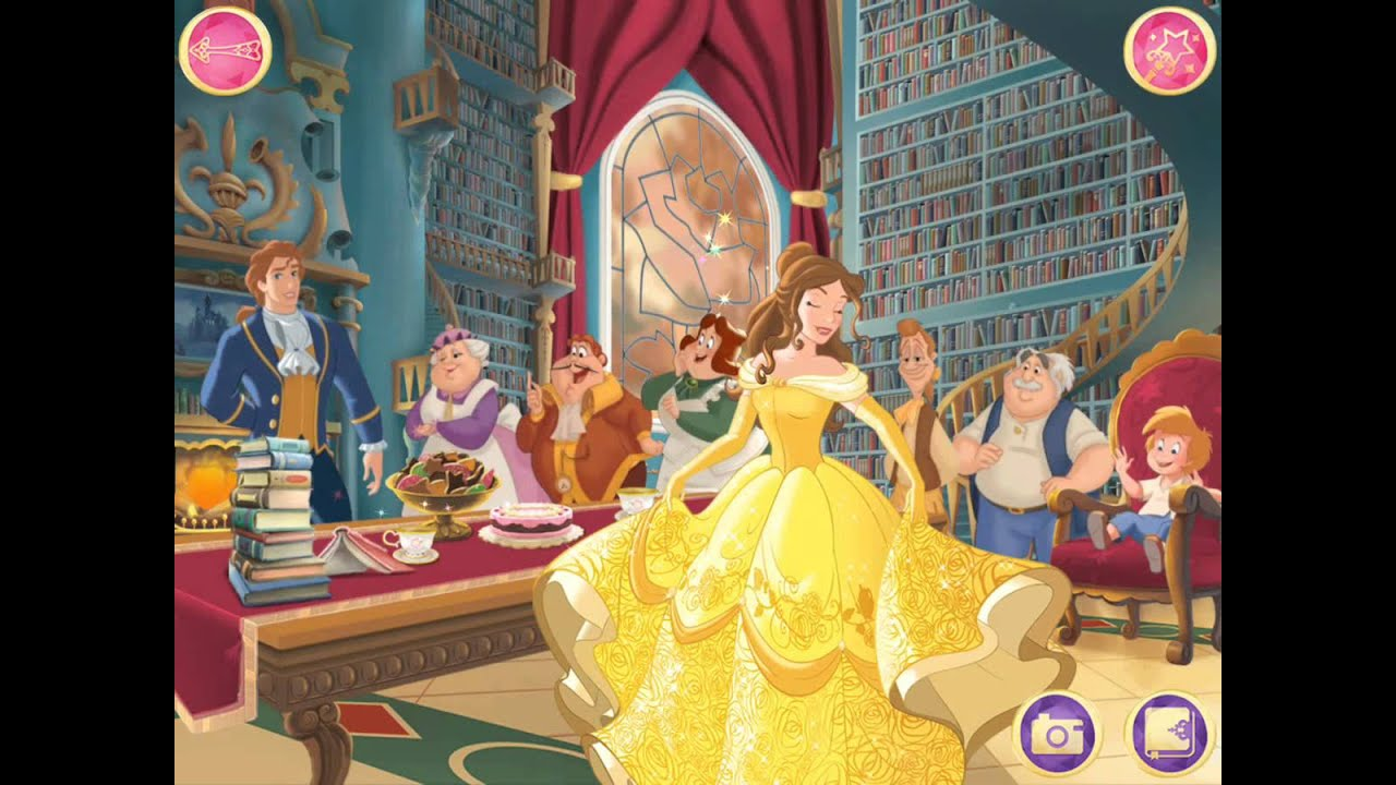 Download DISNEY BELLE BEAUTY AND THE BEAST MOVIE GAME Disney Royal Celebrations