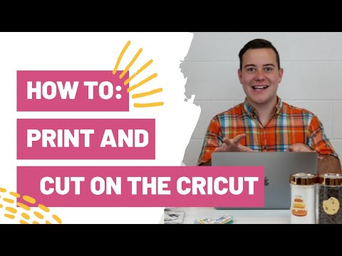 How To : Print And Cut On The Cricut