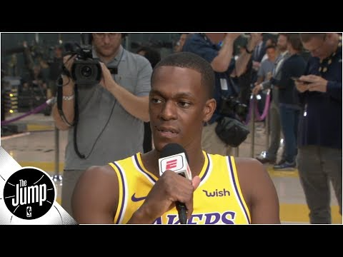 Rajon Rondo on Anthony Davis: I haven't played with a guy this exciting since Garnett | The Jump