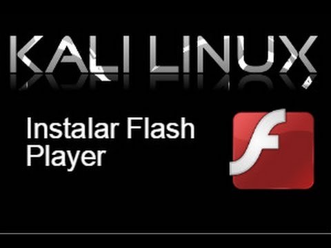 Resultado de imagen para adobe flash player kali