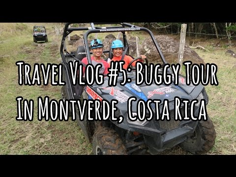 EXTREMO BUGGY TOUR FUN THROUGH MONTEVERDE | Costa Rica Travel Vlog