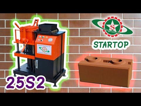 Startop Interlocking Brick Co.,Ltd / ST-H201 Hydraulic press machine (Semi-auto) - double block