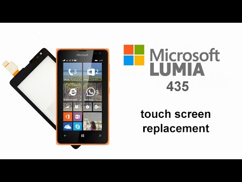 Microsoft Lumia 435, 532 How To Replace Touch Screen