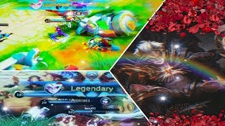 Legendary!! Kills in 10 minutes Dyrroth build tersakiti -mobile legends