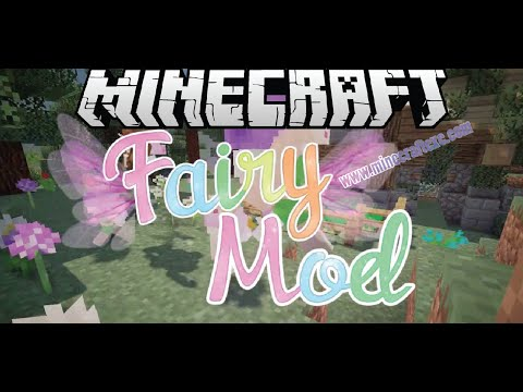How To Install Fairy Mod For Minecraft 1 11 2 1 10 2 1 7 10 Youtube