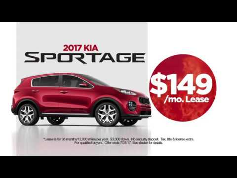 2017 Suv Lease Deals >> July 2017 Evansville Kia Suv Lease Deals