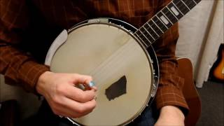 Bluegrass Banjo - Forward Roll - In Depth Lesson
