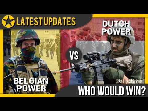 Belgium vs Netherlands - Military Power Comparison 2018 (Latest Updates)