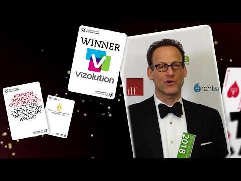 Vizolution - Winner of the Pension Insurance Corporation Customer Satisfaction Innovation Award