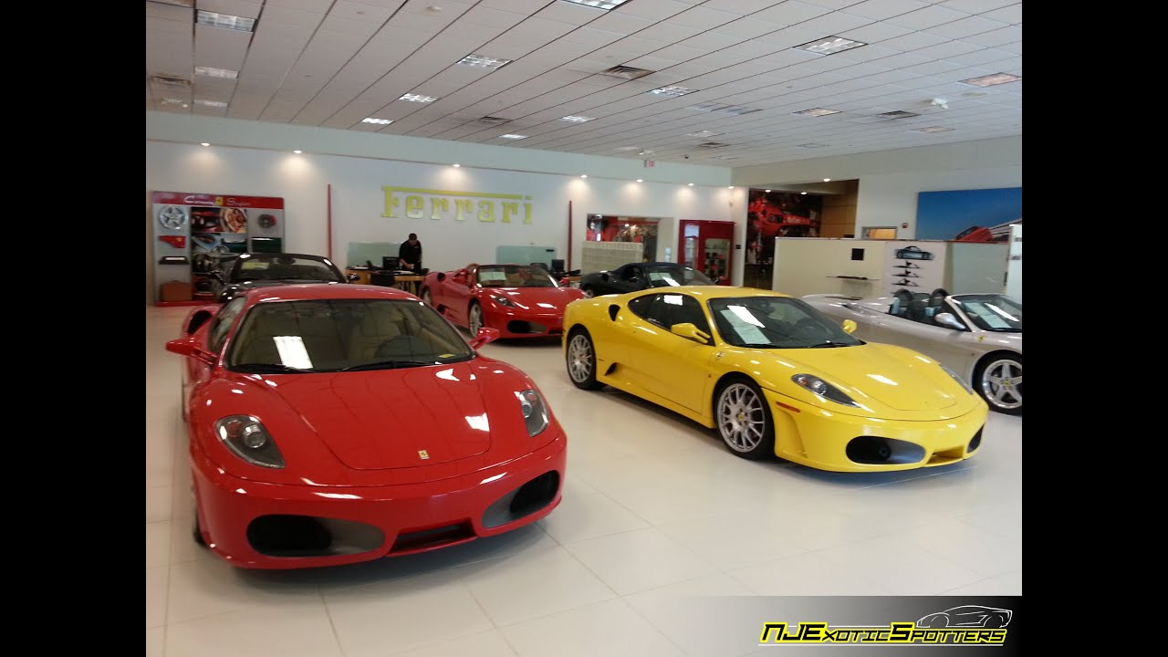 Exotic Car Showroom Gopro Hero Ferrari Maserati Of Central