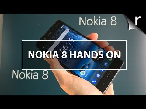 Nokia 8 Hands-On Review First Nokia Android flagship!